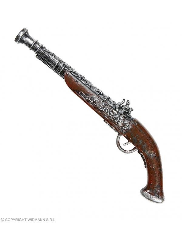 Pistolet antique pirate 43 cm